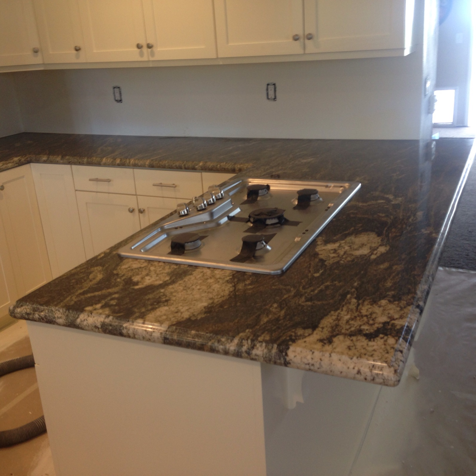 granite slab kitchen sink
